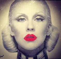 Christina Aguilera by Kfir Moyal
