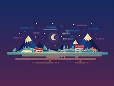 Good night! Buy the work: Shutterstock Creativemarket IStock Graphicriver Follow me: Twitter | Behance | Facebook | Instagram | Tumblr | Flickr
