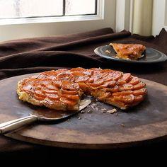 Sweet Potato Tart Tatin by sippitysup.com