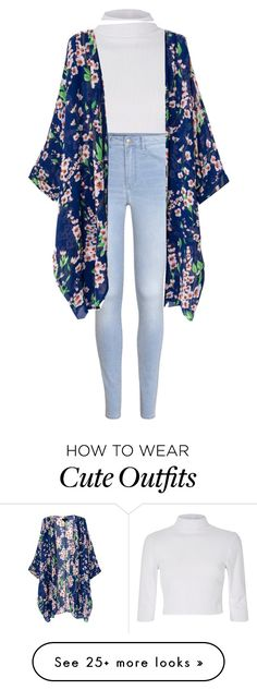 """Cute yet simple outfit"" by iluvselenagomezz on Polyvore featuring H&M"