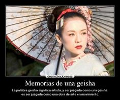 memoria de una geisha frases - Buscar con Google