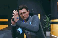 Detroit become human Connor Dechart Bryan, Dark Souls, Skyrim, Oblivion, Humans Meme, Hidden Agenda, Quantic Dream, Detroit Become Human Connor, Becoming Human