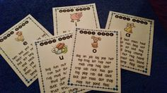 Handy dandy Word Banks for each short vowel!
