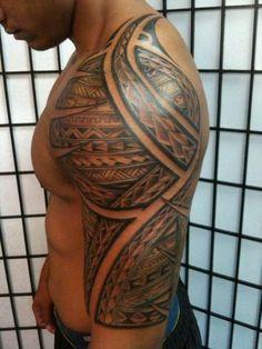 Google Image Result for http://www.city-data.com/forum/attachments/hawaii/69427d1286839155-haole-wanting-poly-tattoo-tat9.jpg #tattoospolynesiansleeve