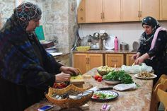 """Megan Hanna reports from Bait al Karama – """"the House of Dignity"""" – a cooking school situated in the heart of the Old City of Nablus. Established in 2008, the school rests on the principle tha…"""
