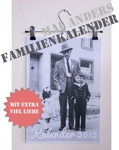 Fee ist mein Name: Familienfotokalenderliebesbekundung