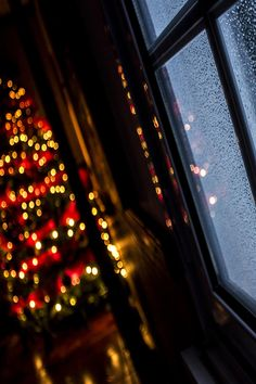 Christmas rain