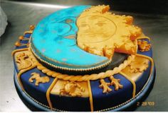 Solstice Cake Art