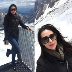 Celebs favourite holiday spots Photogallery - Times of India Bollywood Fashion, Bollywood Actress, Top Celebrities, Celebs, Karisma Kapoor, Jean Top, Latest Pics, Personal Photo, Favorite Holiday
