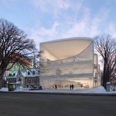 Art museum project for Quebec City in Canada