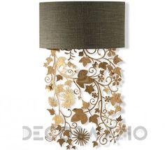 #lighting #wall_lamp #walllamp #interior #design  Светильник  настенный накладной Porta Romana Ivy Shadow, TWL95_forgld изображение