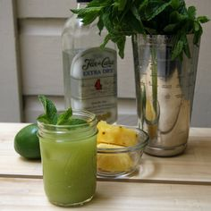This healthy twist on a mojito is filled with good-for-you ingredients that help the body debloat.