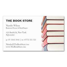 Book business card business cards and business colourmoves