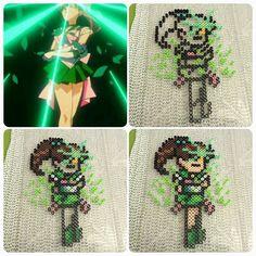 Sailor Jupiter Oak Evolution perler fuse beads by b.dawg.skip