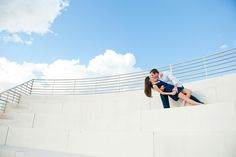 Real Engagement: Allison + Joey in Tampa // Images by Marissa Moss Photography // Via Modernly Wed (1)