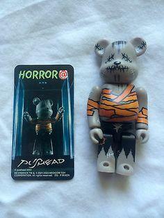 Medicom Be rbrick 100 3 inch Series 6 Secret Horror Pushead RARE Frankenstein | eBay