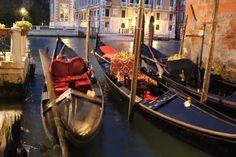 Charming gondola's in Venice