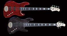 lakland bass   Lakland US Series 44-AJ 4 String Lakland US Series 55-AJ 5 String ...