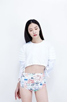 koreanmodel: Kwak Jiyoung for Low Classic S/S...