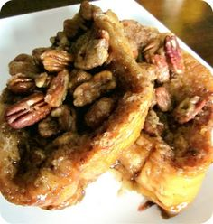 pecan praline baked french toast