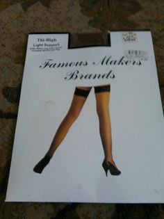Thigh High Light Supprot Thigh high Stockings  #FamousMakersBrands #Stockings