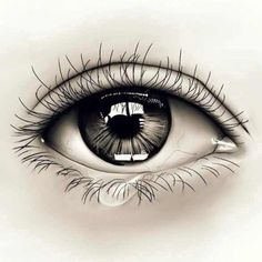 Realistic Eye Tattoo Idea