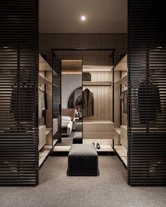 Bedroom Closet Design, Home Room Design, Closet Designs, Home Interior Design, Bedroom Decor, Modern Luxury Bedroom, Luxurious Bedrooms, Dressing Room Design, Luxury Closet