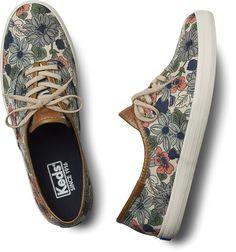 #Keds floral #tênis  #casual #sapatos