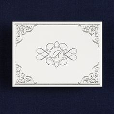 Silver Lace- Thank You Note