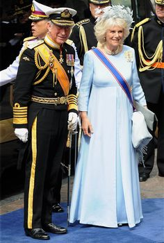 Prince Charles of Wales and wife Camilla, Duchess of Cornwall were attending the inauguration ceremony of King Willem Alexander of the Netherlands