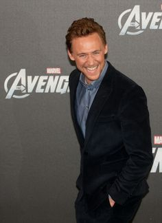 Tom at The Avengers Berlin Photocall on April 2012.