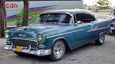 Les anciennes voitures, classic car américaines années 1950 de Cuba