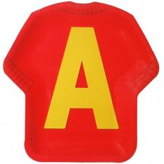 Chipmunks Sweater-Shaped Plates - 8.25in (8 Pack)