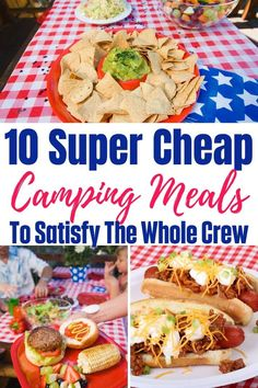 You are gonna love these super easy and totally cheap camping meals. Camping food should be fun, easy, and affordable. Camping Food Make Ahead, Camping Lunches, Camping Menu, Camping Foods, Backpacking Food, Tent Camping, Camping Hacks, Camping Recipes, Camping Stuff