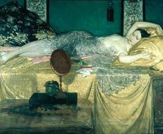 Silver and Gold - Sir William Russell Flint