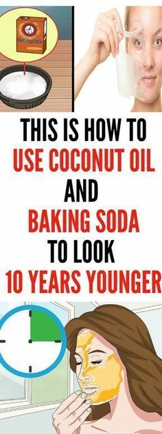 Coconut Oil Uses - This Is How To Use Coconut Oil And Baking Soda To Look 10 Years Younger 9 Reasons to Use Coconut Oil Daily Coconut Oil Will Set You Free — and Improve Your Health!Coconut Oil Fuels Your Metabolism! Natural Facial Cleanser, Natural Face, Face Cleanser, Natural Oil, Natural Sleep, Natural Makeup, Baking With Coconut Oil, Coconut Oil For Acne, Skin Care