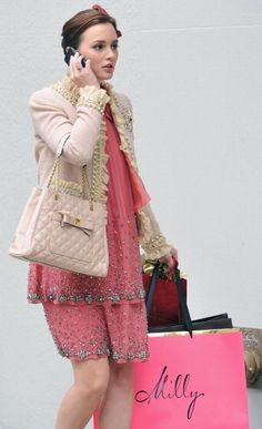 Gossip Girl Blair In Moschino...amazing Style