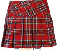 LADIES #TARTAN #CHECK #PRINT #MINI #SKIRT #WOMENS #PLEATED #MICRO MINI #KILT in Clothes, Shoes & Accessories, Women's Clothing, Skirts | eBay