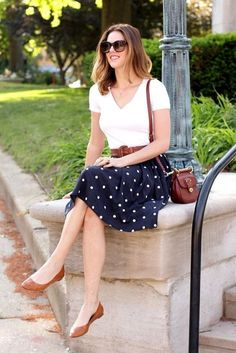 45 Work Outfits to Wear this Summer - Latest Fashion Trends #FashionTrendsWork