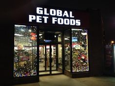 Global Pet Foods...where all are welcome at over 170 stores across Canada! We can help you find the perfect Christmas gifts for your pets or pet-loving family & friends! This photo was taken at one of the Global Pet Foods stores in Edmonton, Alberta (Jasper Ave. location). #tistheseason #seasonofgiving #whatwillbeunderthetree #spiritofchristmas #Christmas