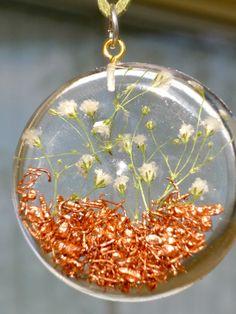 Orgone healing energy pendant crystal emf protection reiki necklace orgonite 655