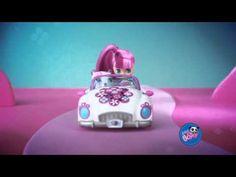 Hasbro  - Littlest Pet Shop - Blythe et Petshop en Cabriolet   Mini Poupée