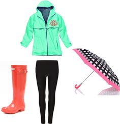 """""""Rainy Day Outfit."""" by msjade812 on Polyvore"""