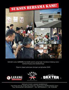 Barberschool of indonesia / Sekolah Kapster / Sekolah Cukur   Garut Banyuresmi Indonesia  By.  Lanang Barbershop Lanang VIP Bexter Barber & Shop