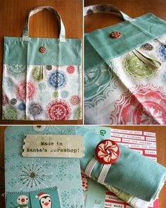 Roll up tote gift | Odds and Ends Fabric