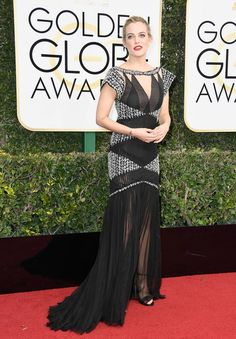 Riley Keough - Every Best Dressed Look from the 2017 Golden Globes - Photos