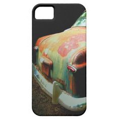 Vintage Rusted Classical Car Photo Art by AnnPowellArt $39.95