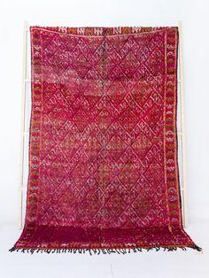 Vintage Moroccan Boujad Rug The Saskia Berber