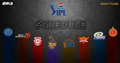 IPL 2015 schedule time table