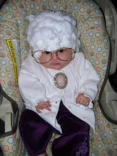 Old Woman Baby Costume <3 <3